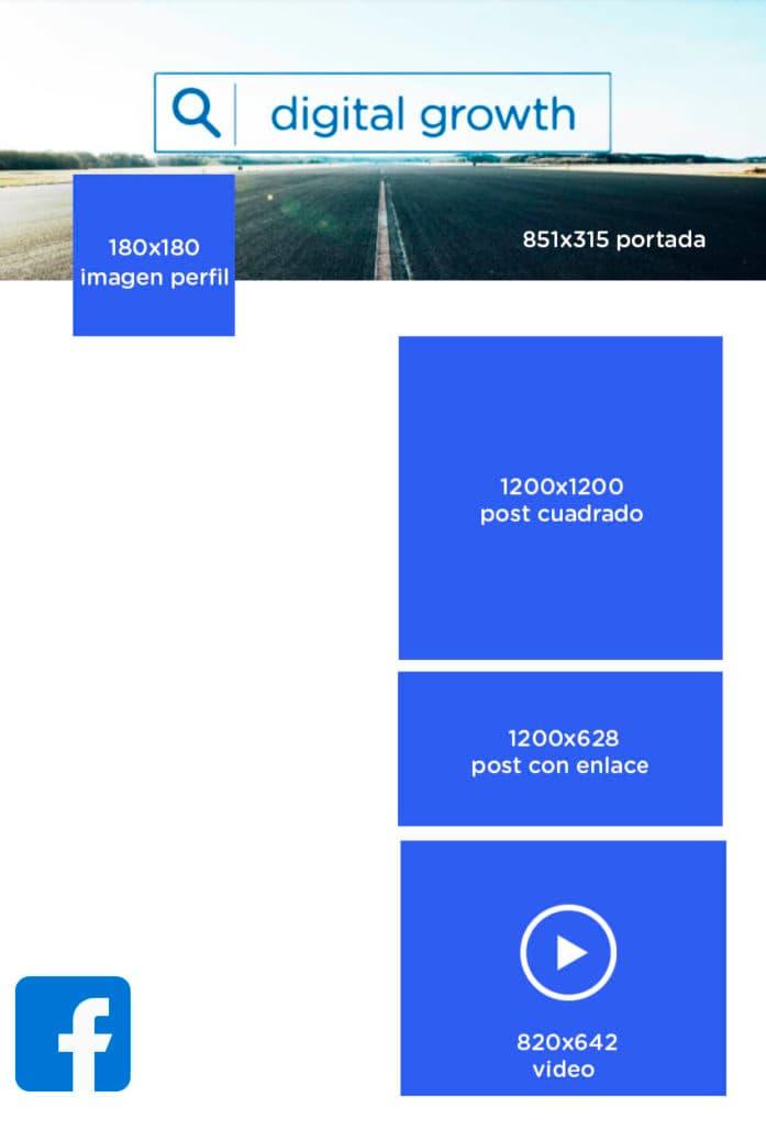 Imágenes en Facebook optimizar el tamaño
