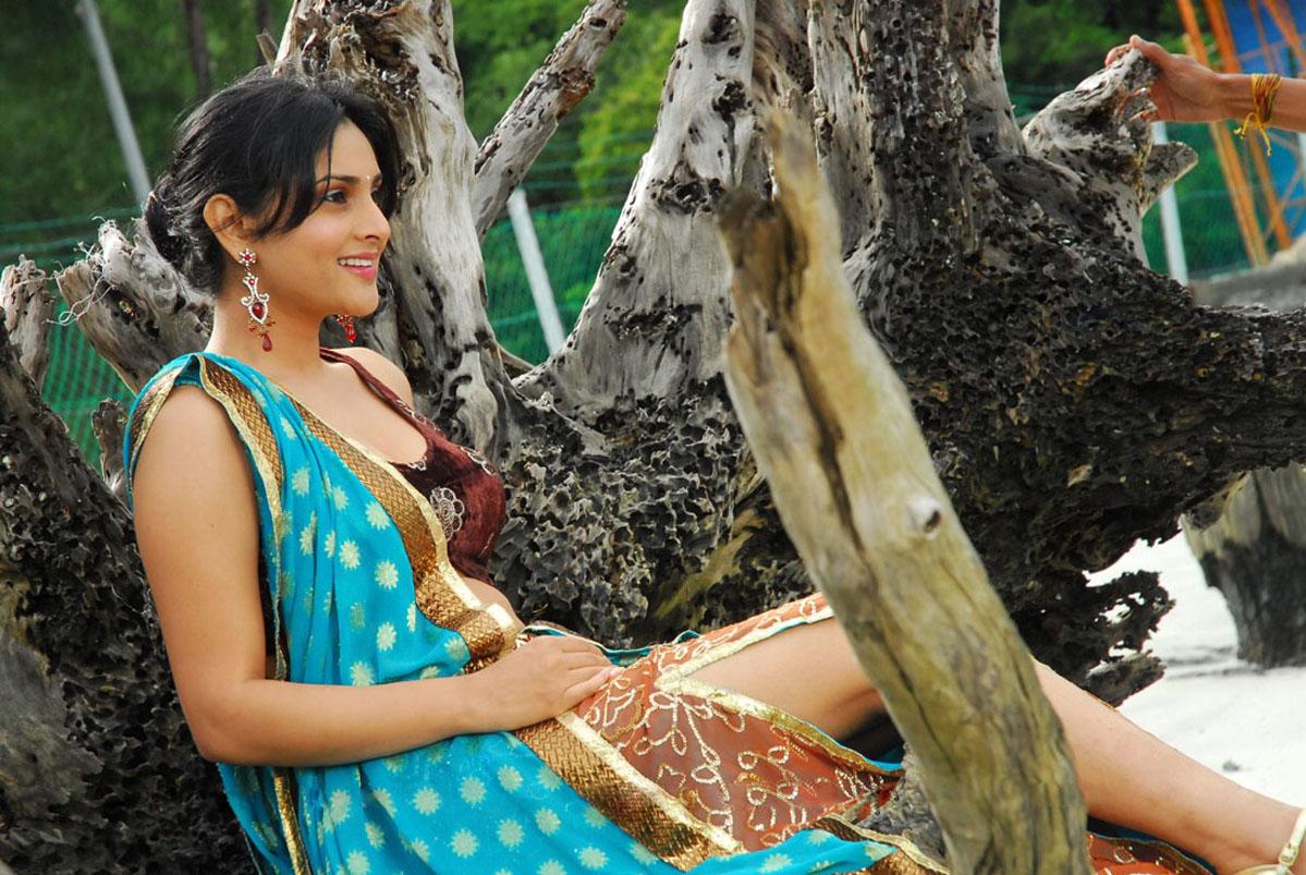 Actress ramya latest unseen spicy stills photos in decorative saree