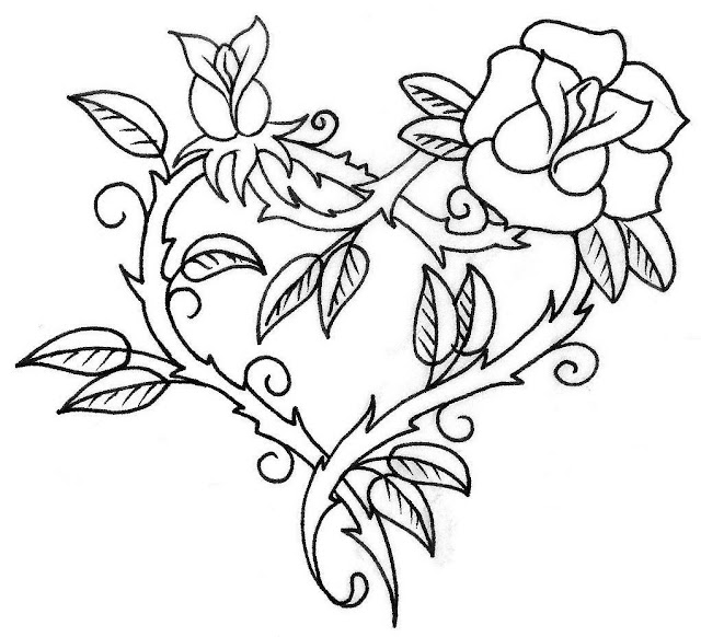 beautiful heart tattoos by hdlovingwallpapers.blogspot.com