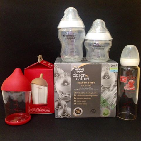 Baby Shower Loot Baby Bottles For Breastfeeding Rookie
