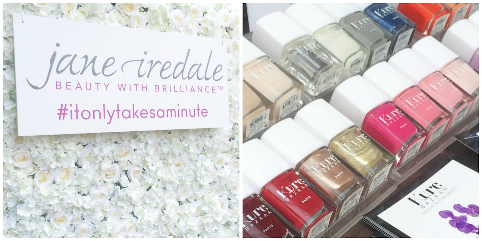 Nails, Kure Baazar, manicure, Jane Iredale, makeup