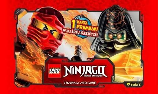 Chwalebne Lego Ninjago: Seria 2- kolekcja kart | Dodatki w kiosku 2 (+ sklepy) NZ15