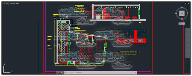 Download-AutoCAD-coffee-bar-dwg-cad