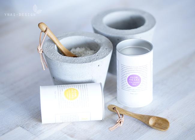 Ynas Design Blog | Betontöpfchen fürs Salz | Oh, Beton!