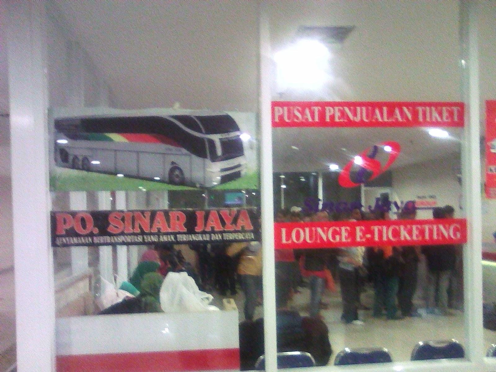 Naik Bus Sinar Jaya Di Terminal Terpadu Pulogebang Share Panduan