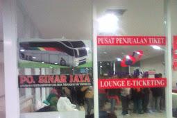 Naik Bus Sinar Jaya di Terminal Terpadu Pulogebang