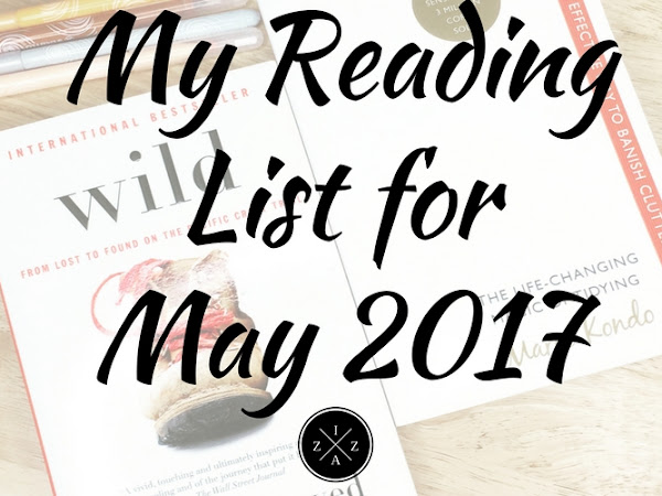 My Reading List for May 2017