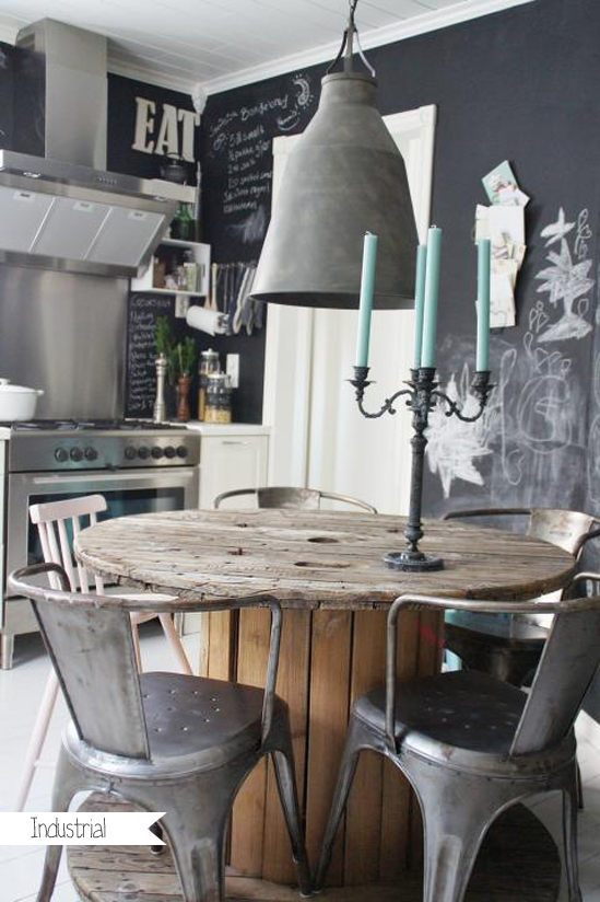 Industrial Kitchen Table And Chairs