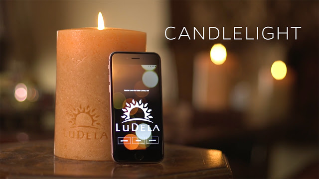 Meet LuDela;The Smart Candle You Can Control With Your Phone