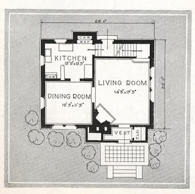sears house randolph catalog floor plan same as willard
