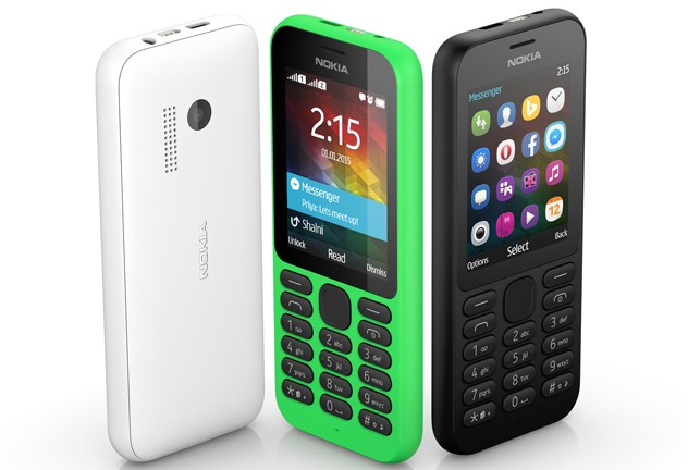 Nokia 215 (Single and Dual SIM)