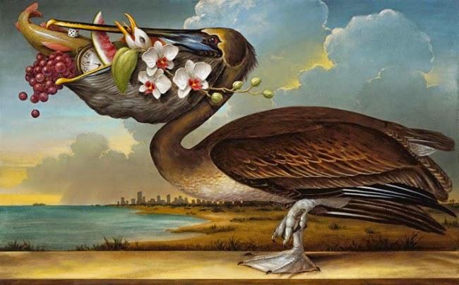 Na Praia - Kevin Sloan e suas pinturas mágicas