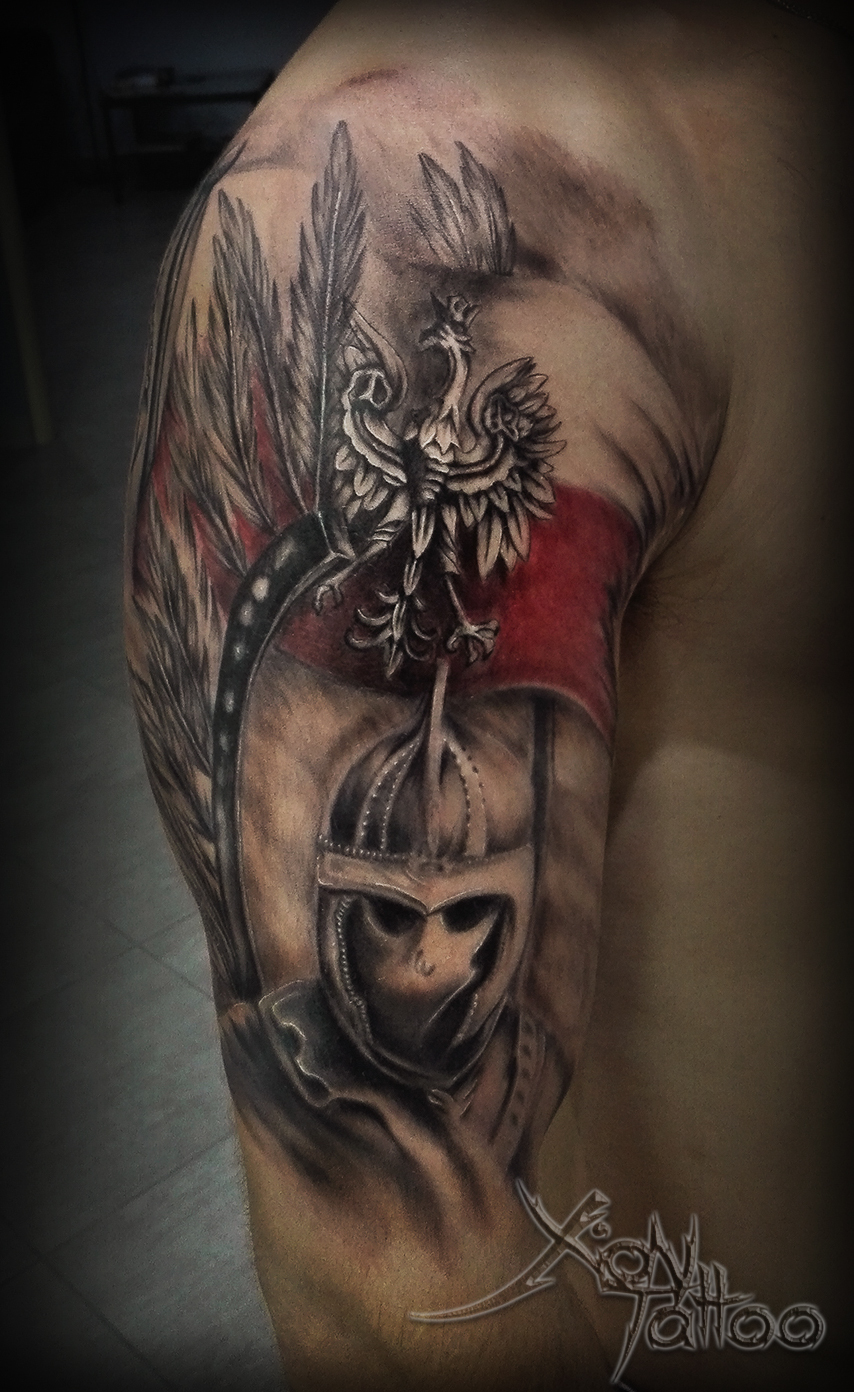 Polish Hussars Tattoo Dark Templar Tattoo Studio Tatuażu Oświęcim