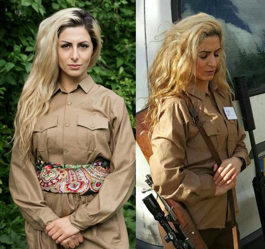 Ιδού η 23χρονη Τζοάνα Παλάνι που πολεμά τους μακελάρηδες του ISIS