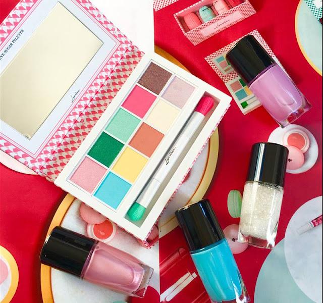 macaron treats sweet makeup