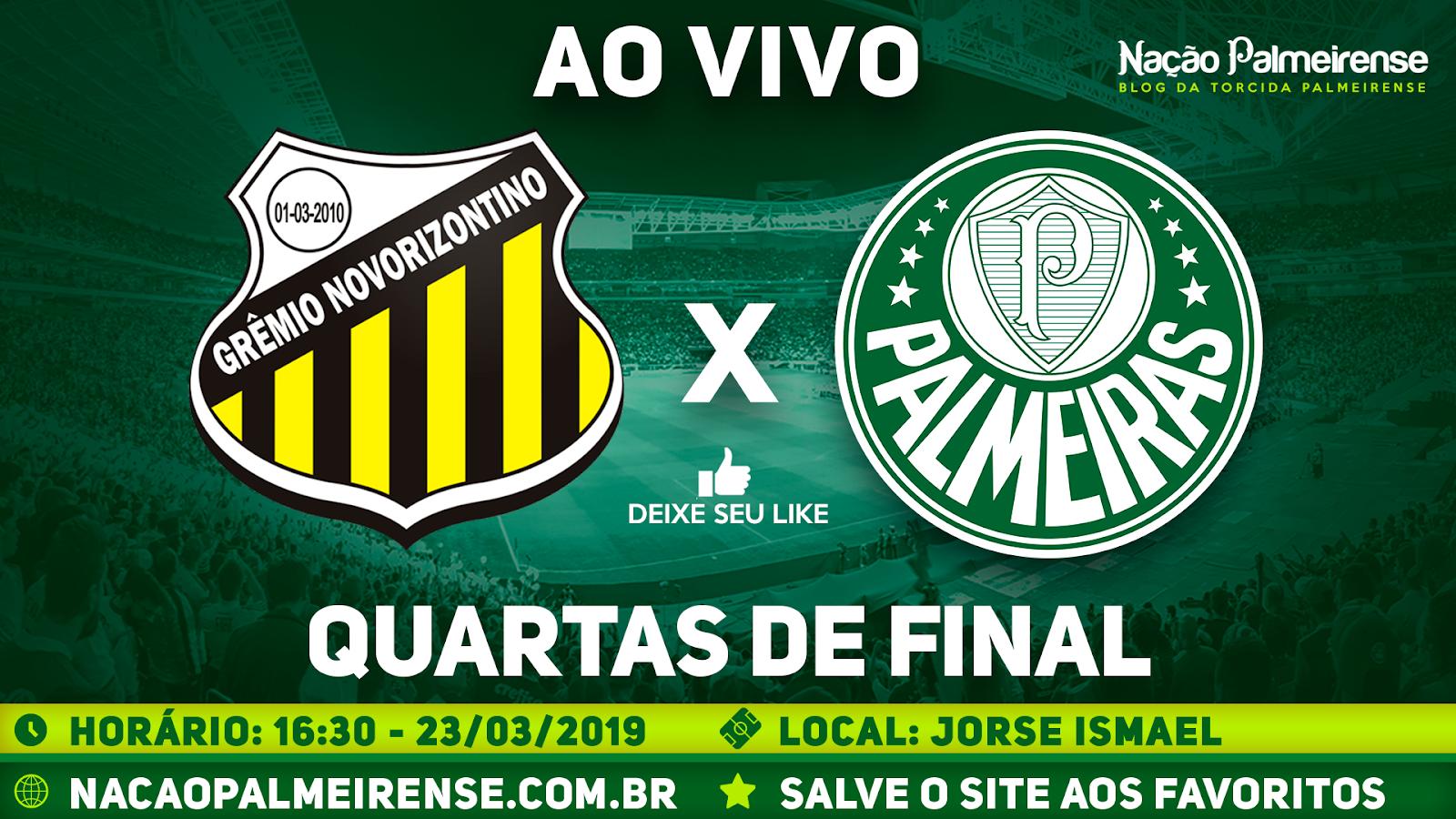 Assistir Novorizontino x Palmeiras Ao Vivo