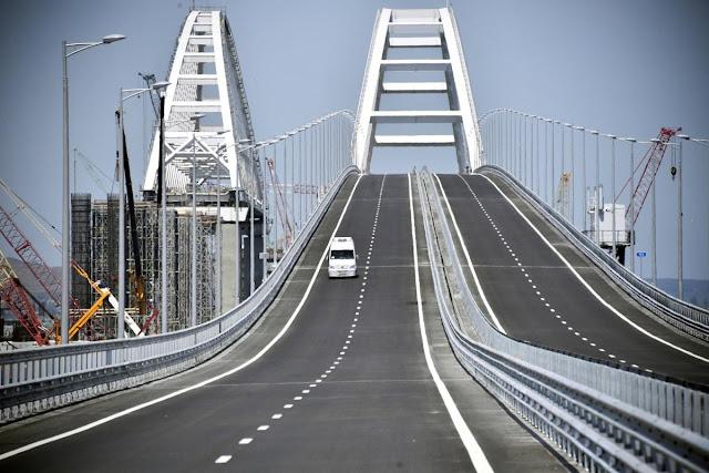 În construcția poduluii crimeean Kerci au luat parte până la 10 companii europene