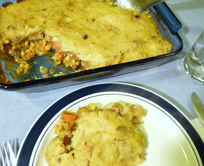 Curried Shepherds Pie with Sweet Potato Topping