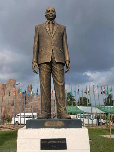 Okorocha-&-Zuma's-Statue---Reuben-Abati