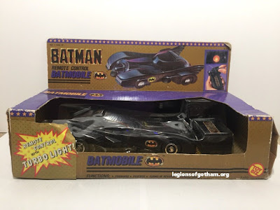 Toy Biz Remote Control Batmobile RC