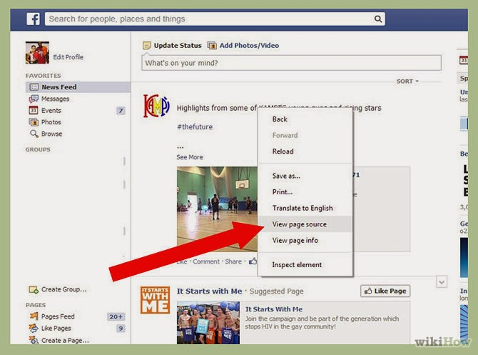 How to See Who Views Your Facebook Profile the Most ~ 5az Rocks!!!