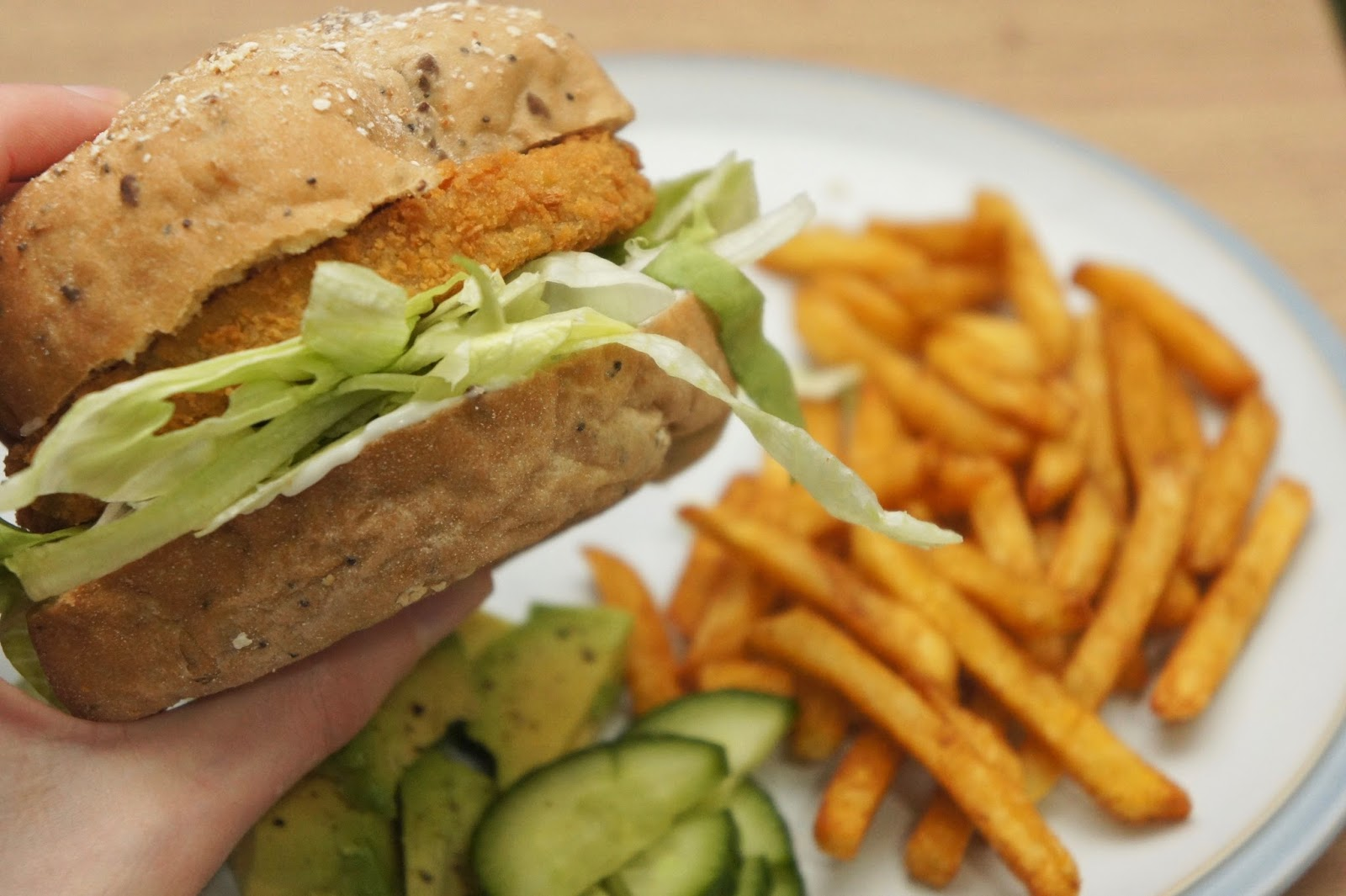 veganized chicken burger gluten free