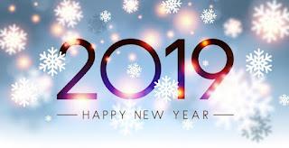 عام سعيد 2019: مكتبة بطاقات وصور رأس السنة 2019 أكبر مجموعة كروت بمناسبة رأس السنة الميلادية 2019 عبارات تهنئة عام 2019