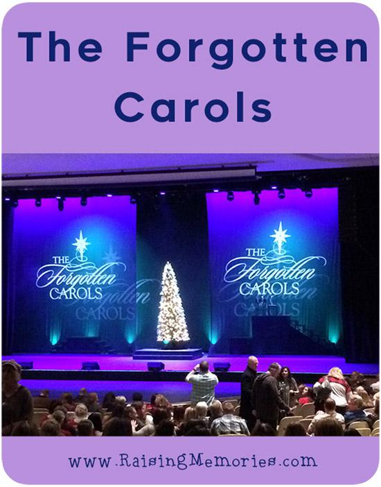 The Forgotten Carols, live!