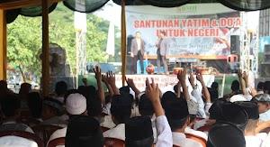 Ratusan Yatim Dhuafa BMH Doa Bersama untuk Keselamatan Negeri