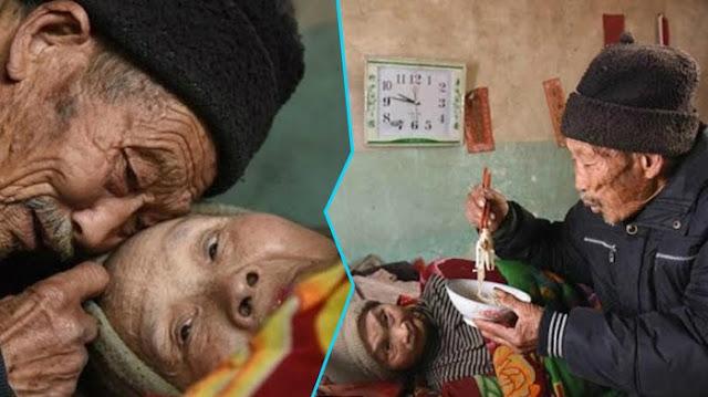 Salut! Meski Minta Diceraikan Karena Sakit Parah, Pria ini Tetap Merawat Istrinya Hingga Puluhan Tahun