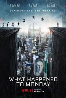 What Happened to Monday (2017) Movie (English) HDRip 720p [510MB]