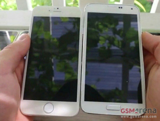 Ini Perbandingan Ukuran Apple iPhone 6 dan Samsung Galaxy S5