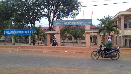 Gia Lai: Thiếu tá công an đánh học sinh chỉ bị khiển trách