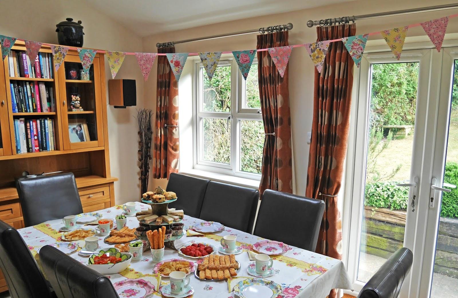 DIY British afternoon tea in collaboration with Talking Tables