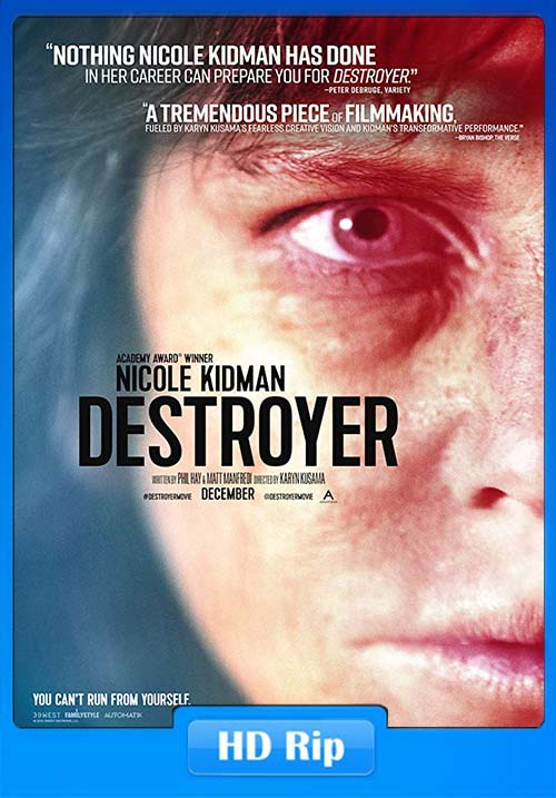 Destroyer 2019 720p WEB-DL x264 | 480p 300MB | 100MB HEVC