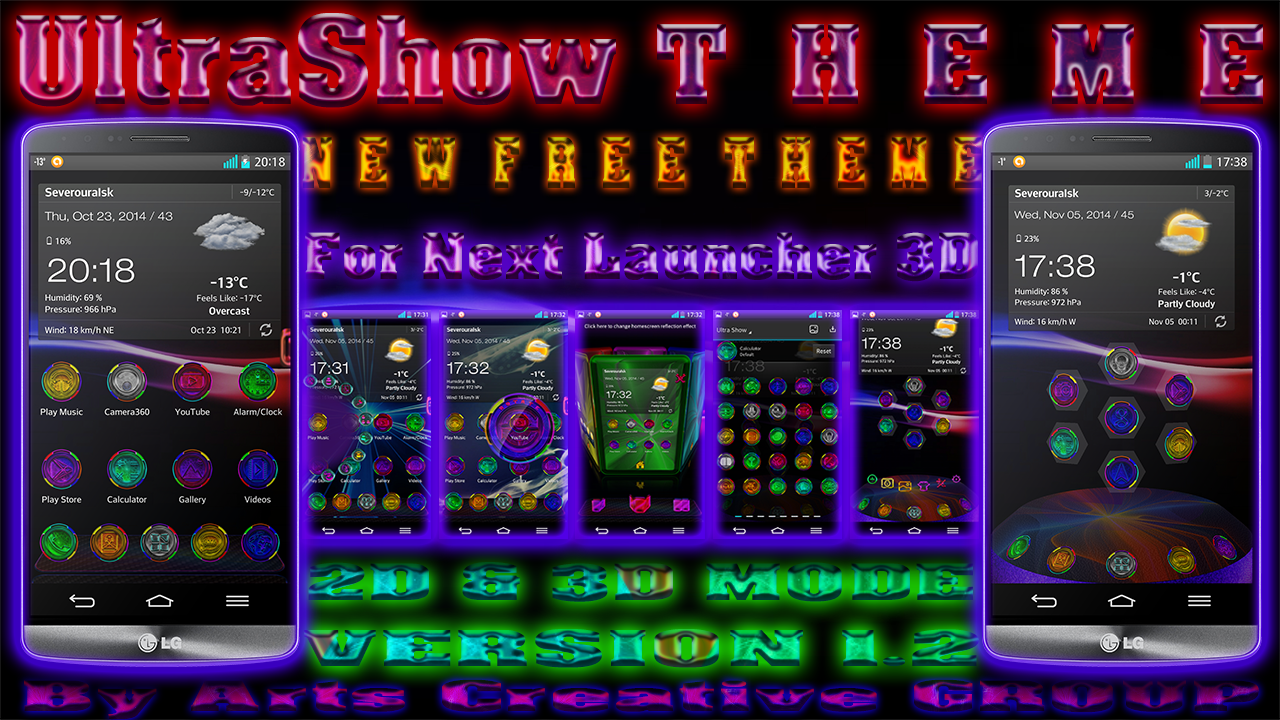 FREE THEMES FOR NEXT LAUNCHER 3D!!! (by ACGroup) - Android ...