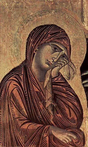 Madonna - Giovanni Cimabue e suas pinturas ~ O criador de mosaicos