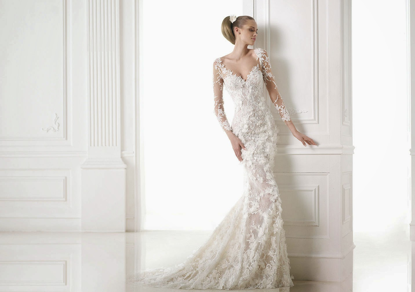 Lace Wedding Gowns: I Am A Woman In Love: 2015 Wedding Dresses: Lace Mermaid