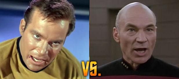 Through Alien Eyes: Kirk Vs. Picard