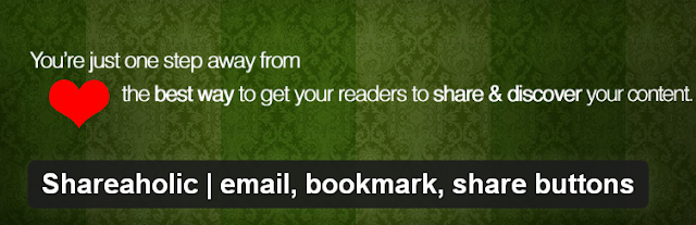 Shareaholic | Email, Bookmark, Share Buttons