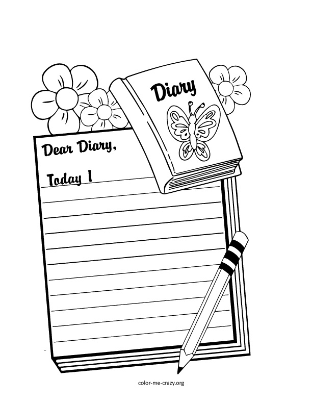 Coloring Violetta Diary Coloring Pages