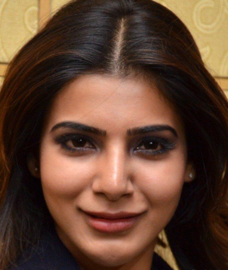 Indian Actress Samantha Face Close Up Images