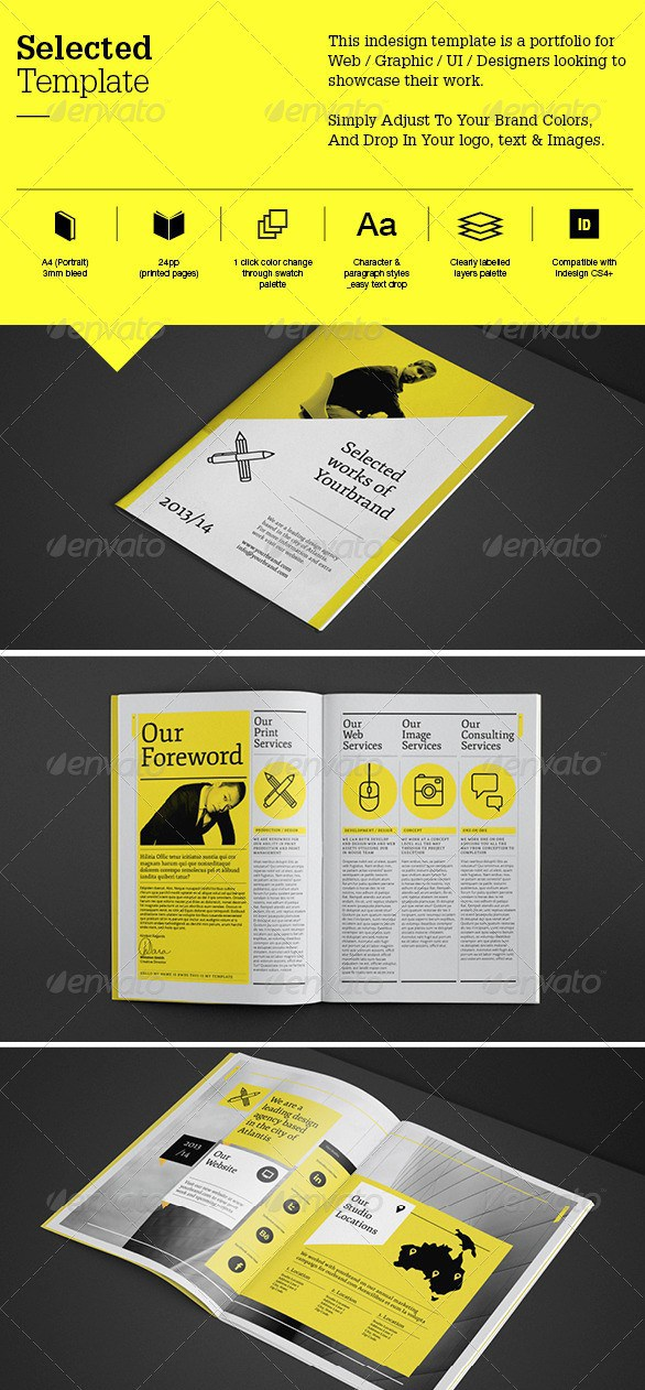 Free Premium Brochure Templates Photoshop PSD InDesign AI - Psd brochure template