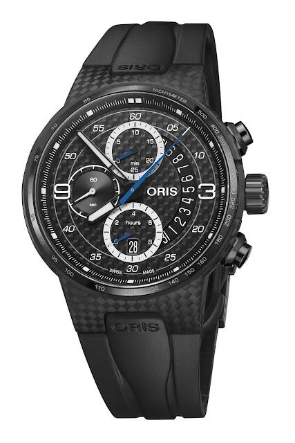 Racing lines, rakish good looks and pedigreed performance mark the Oris Williams FW41