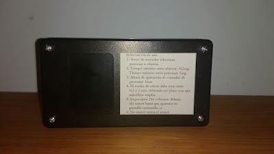 Contador de personas u objetos, instrucciones