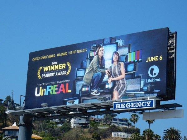 UnREAL season 2 Lifetime billboard