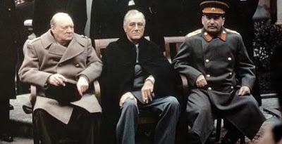 The Yalta Conference, Crimea, February 1945