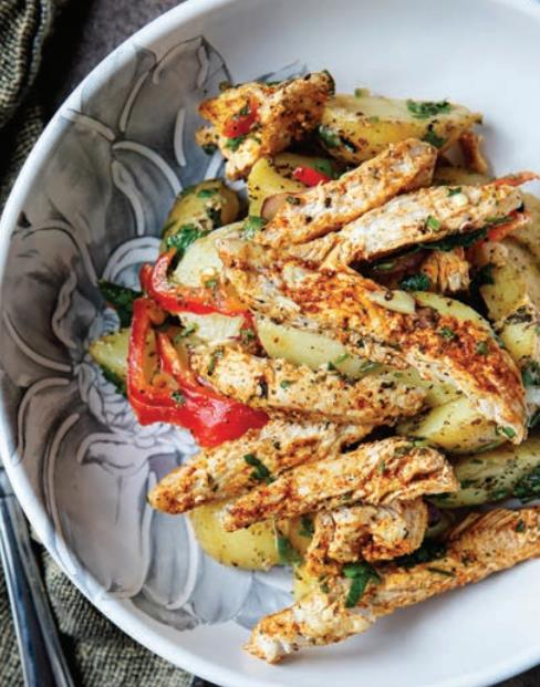 Tavuk Salatası Tarifi (2 Kişilik)