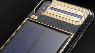 Crean un iPhone X que lleva incorporado paneles solares para que nunca te quedes sin batería