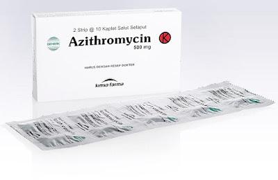 Harga Azithromycin Obat Infeksi Bakteri Ampuh Terbaru 2017